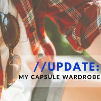 An update on my capsule wardrobe